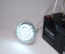How to make your own LED lightbulbs
