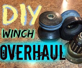 DIY Winch Overhaul, or How to Rebuilt Your Winch and Save Some Money