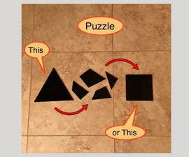 Puzzle: Squaring a Triangle