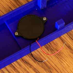 Mount and Wire the OLED Display and Piezo Speaker
