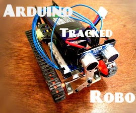 Tracked Arduino Robot