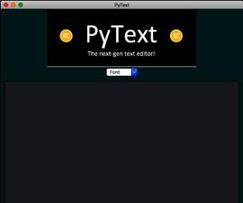 Create a simple Python Text Editor!