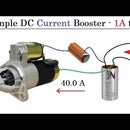 1A to 40A Current BOOST Converter for Upto 1000W DC Motor