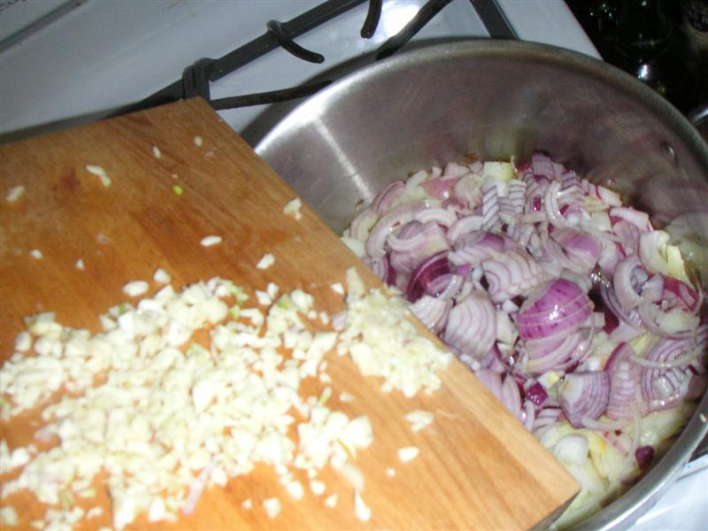 Picture of Chop and Add Garlic