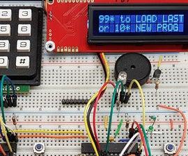 Mega328 with LCD, Keypad and FTDI in-circuit programming