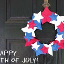 Independence Day Door Wreath