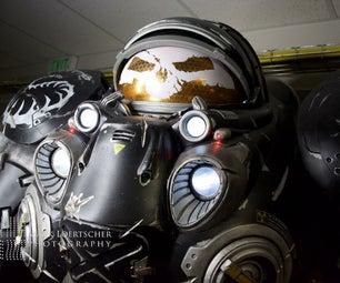 Starcraft 2 Jim Raynor Armor