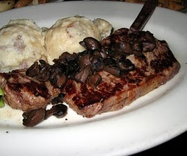 How To Make A Great Steak With Pan Dripping Gravy.