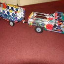mod to knex suspension pickup truck