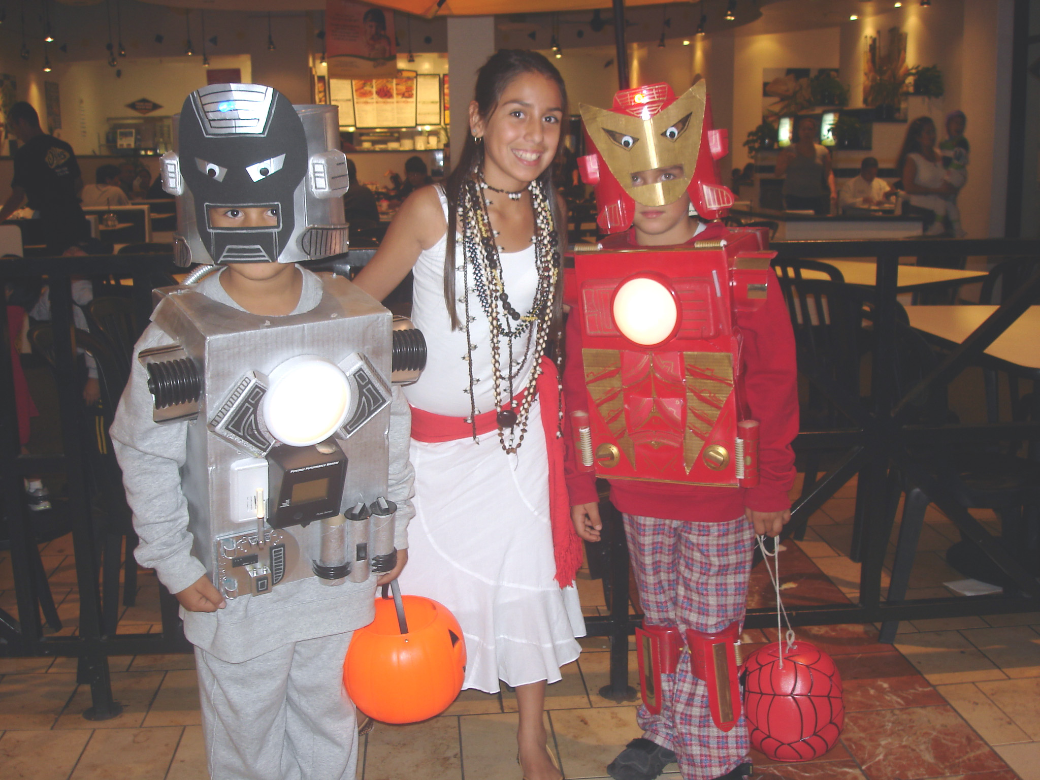 Picture of Cardboard Iron Man Costumes on a Budget