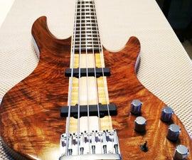 Building My First Bass Guitar