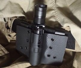 Kydex Flashlight Holster