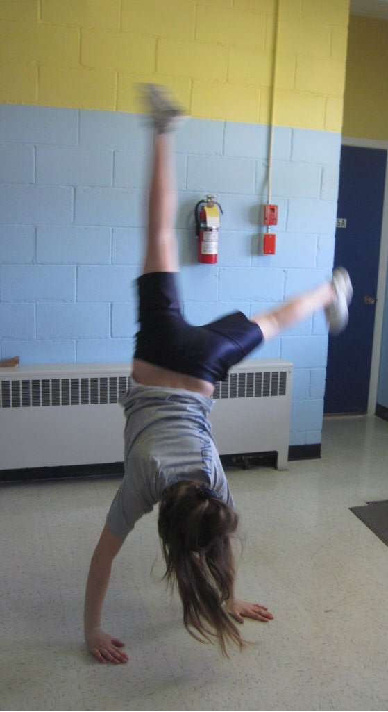 Picture of Getting the Handstand Form
