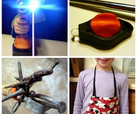 Magnetic task light, reacher and closure