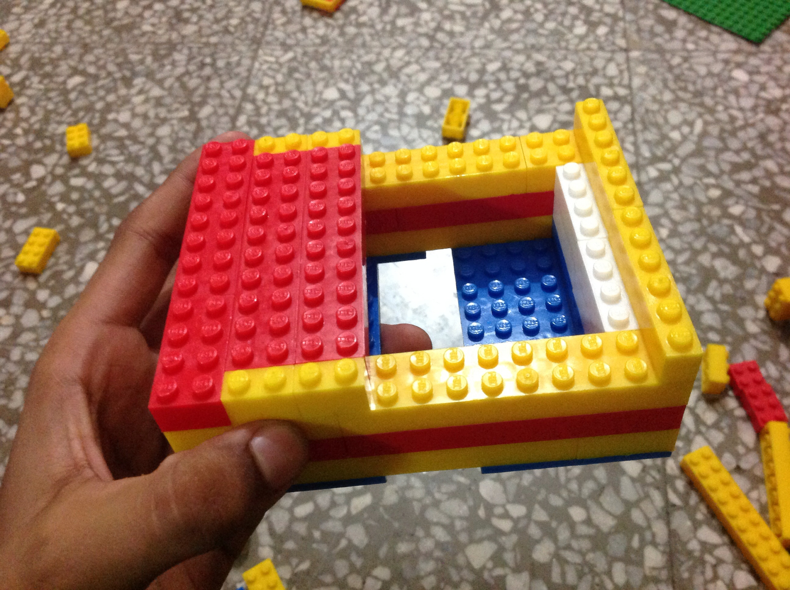 Picture of Building the LEGO Case