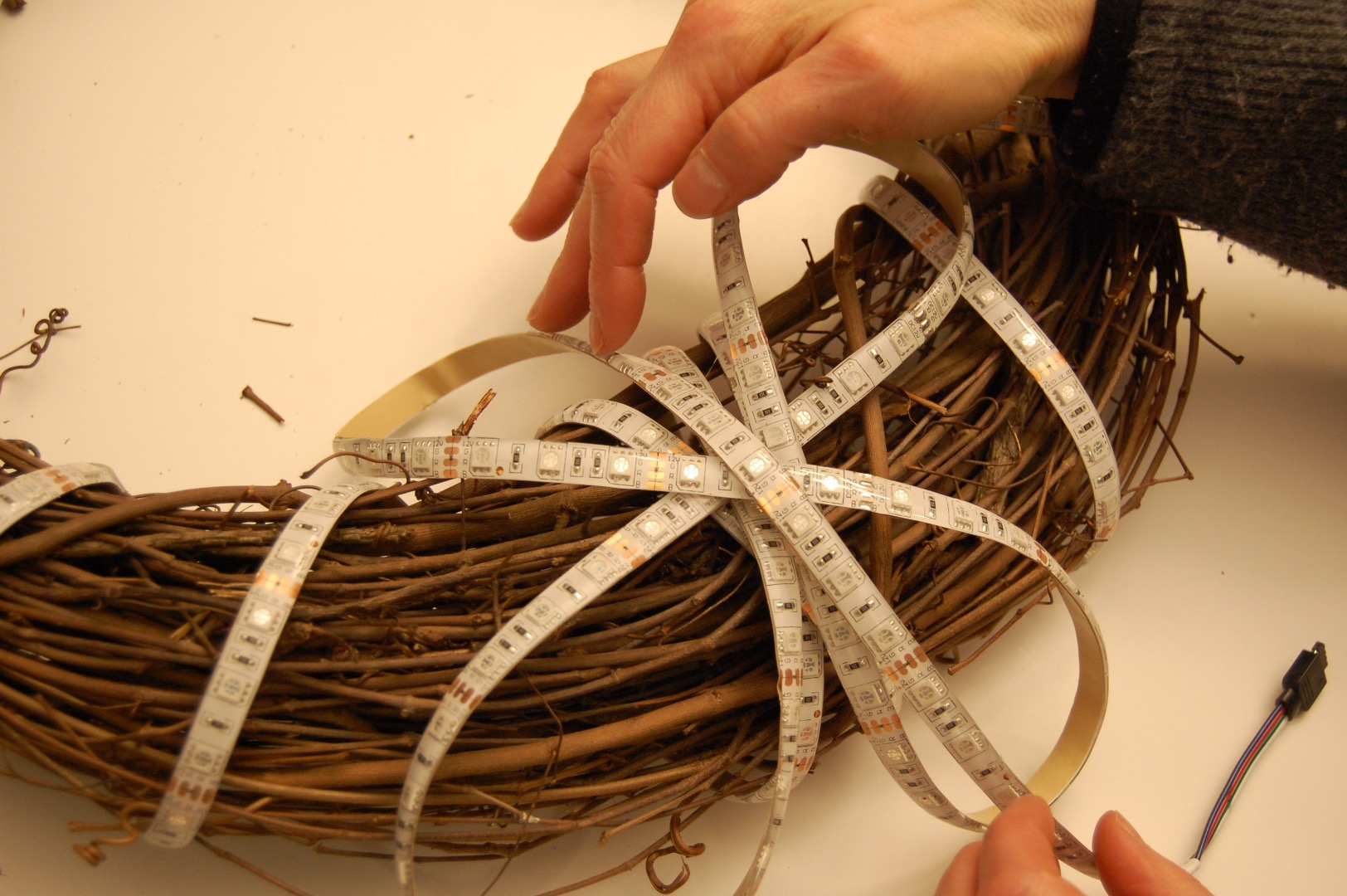 Picture of Wrapping Wreath