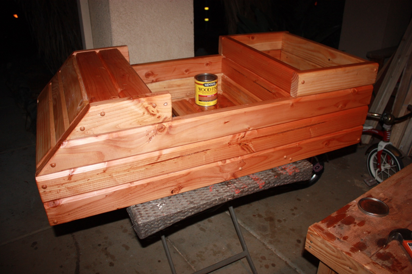 Picture of Staining and Polyurethane