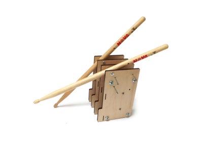 Attach Drum Sticks