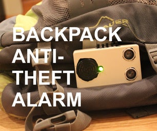 Backpack Anti-Theft Alarm