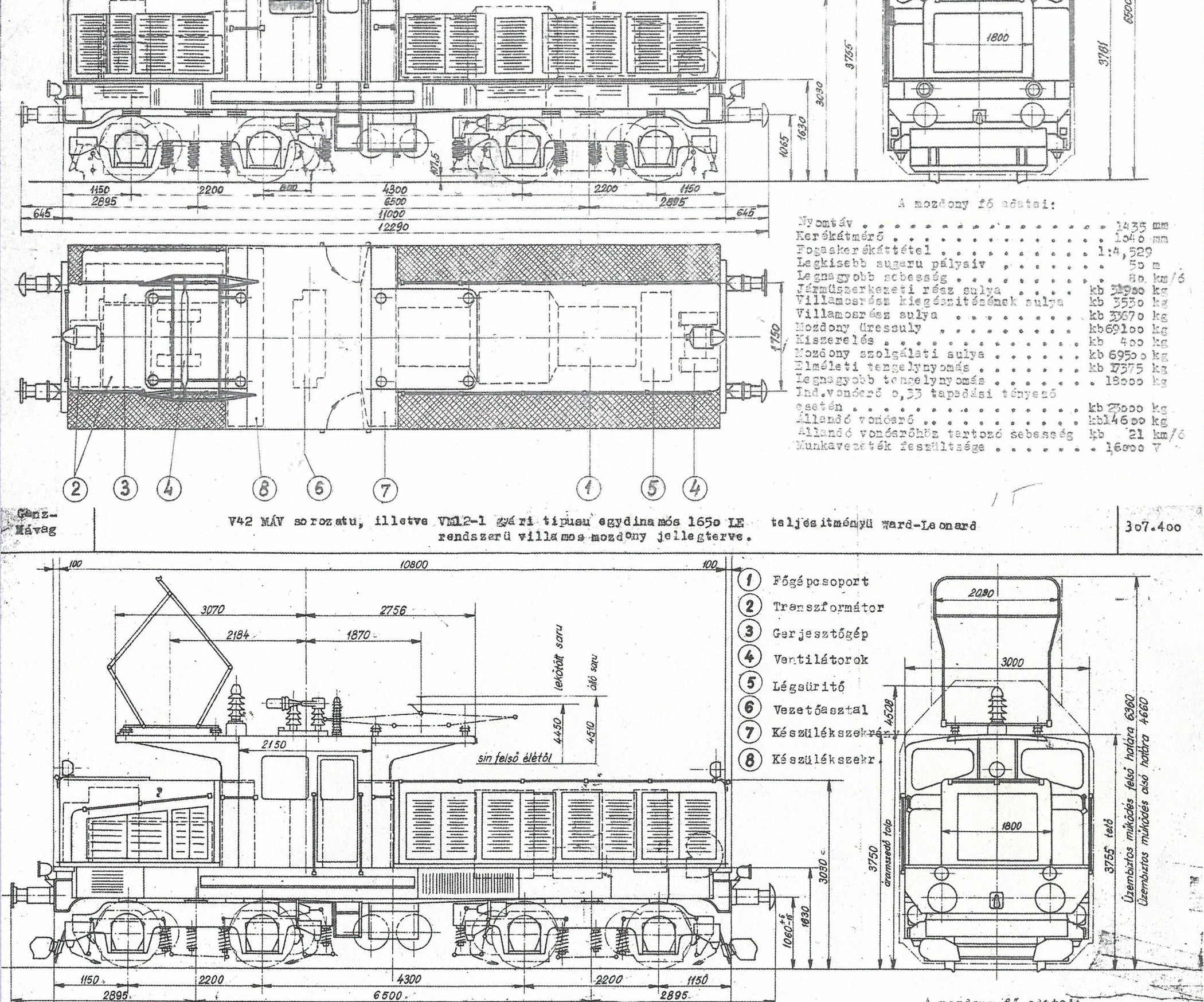 V42 Electric Locomotive in G Scale for Garden Railways: 5