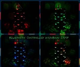 Bluetooth Controlled Rainbow Lamp