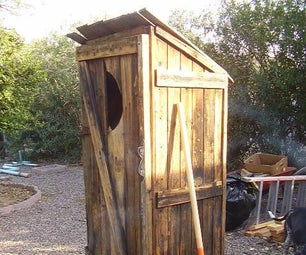 Re-Purposed Outhouse