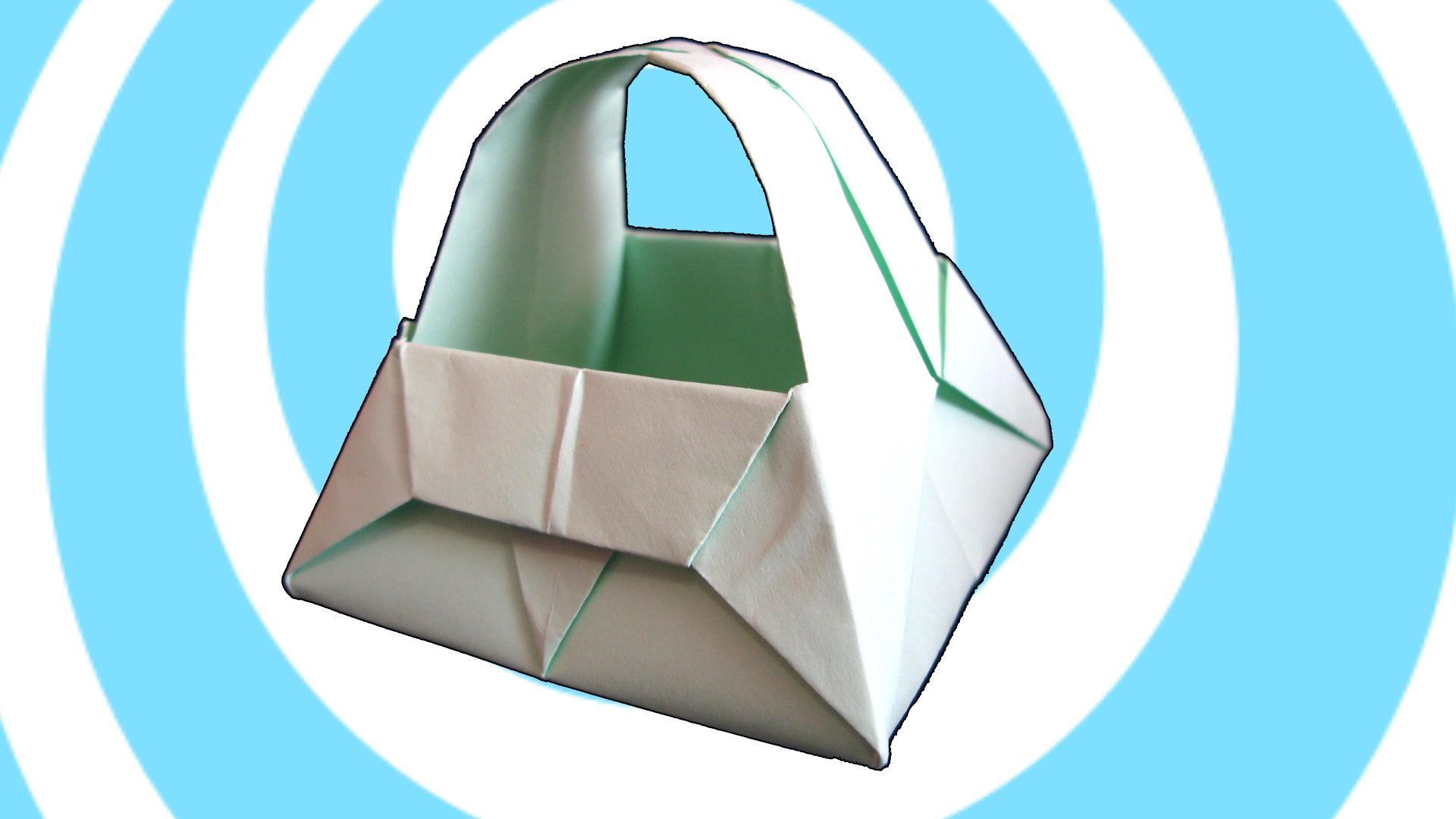 3D Origami Paper Basket/ Origami Bucket/ Advanced Origami/ Paper ... | 1080x1920