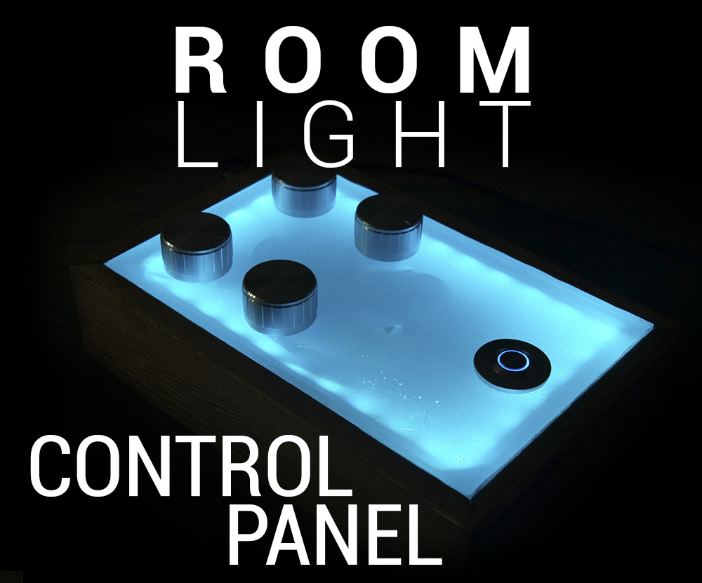 Picture of Fancy Room Lighting Control Panel