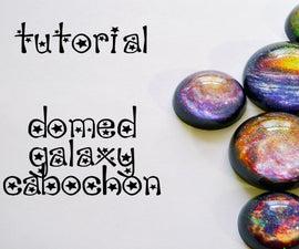 Resin Galaxy Cabochon