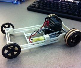 The Capacitor Powered Car