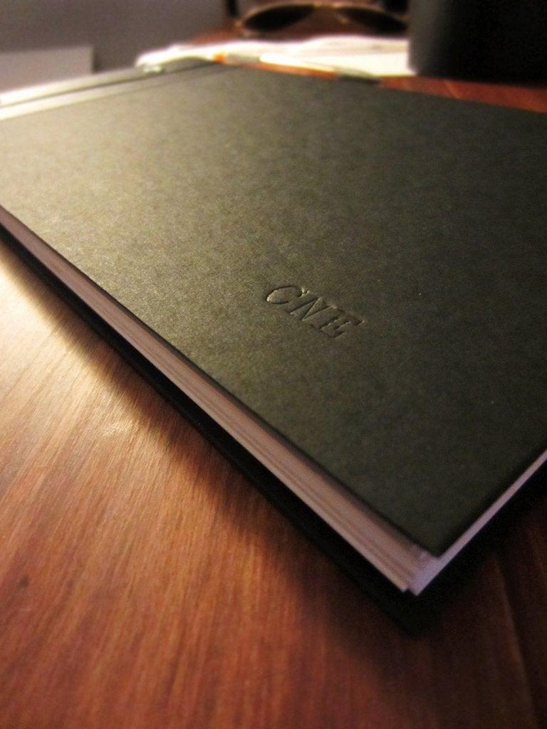 hardcover portfolio book 12 steps