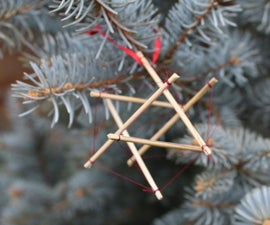 Simple Tensegrity Ornament
