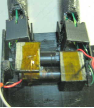 Picture of High Speed Hand (Continued) - Add Fingers to Motor Mounts - Attach to HandShell