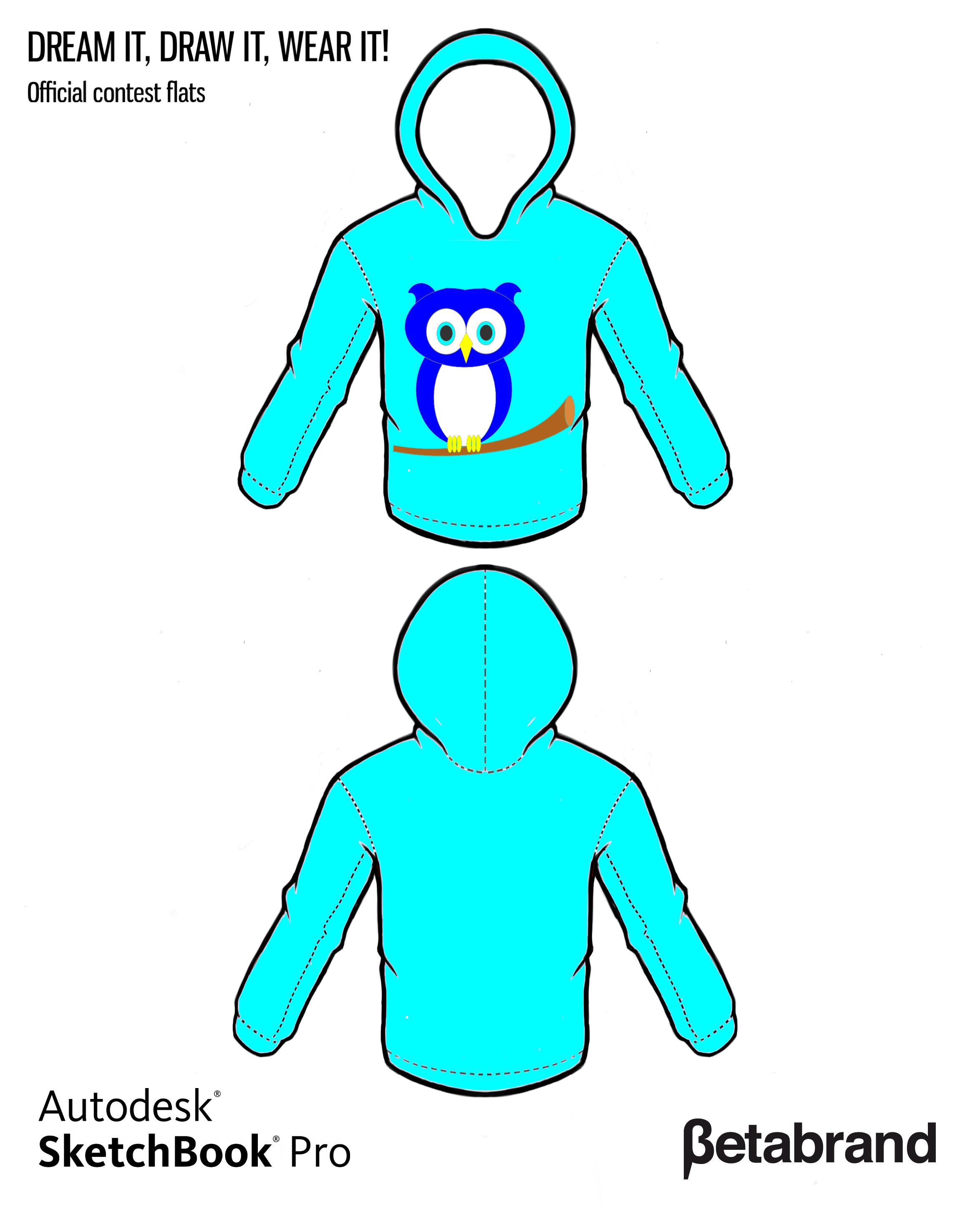 Picture of Design an Owl Hoodie