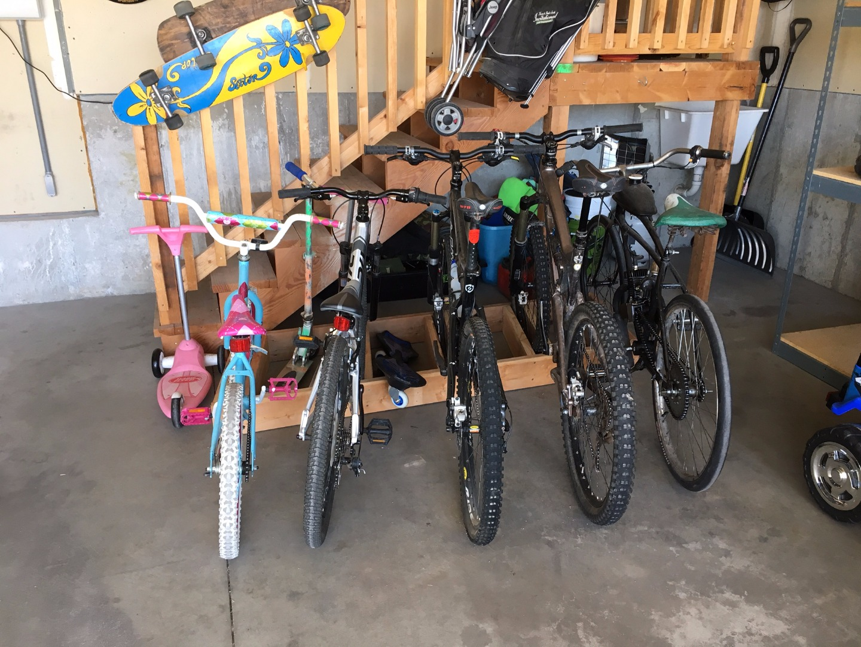 Picture of Garage Bike Rack, Simple & Clean Design