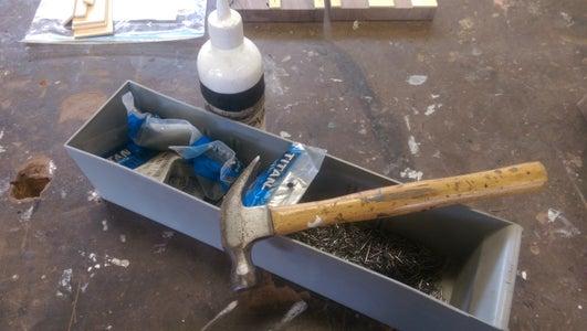 Glue Playwood to Walnut
