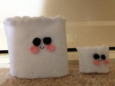Sew the Top of the Marshmallow