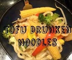 Tofu Drunken Noodles