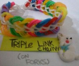 Rainbow Loom: Triple Link Chain