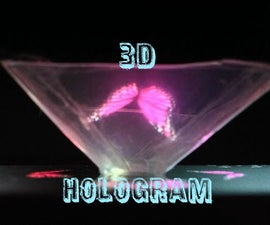 Easy 3D Holograms Using Phone