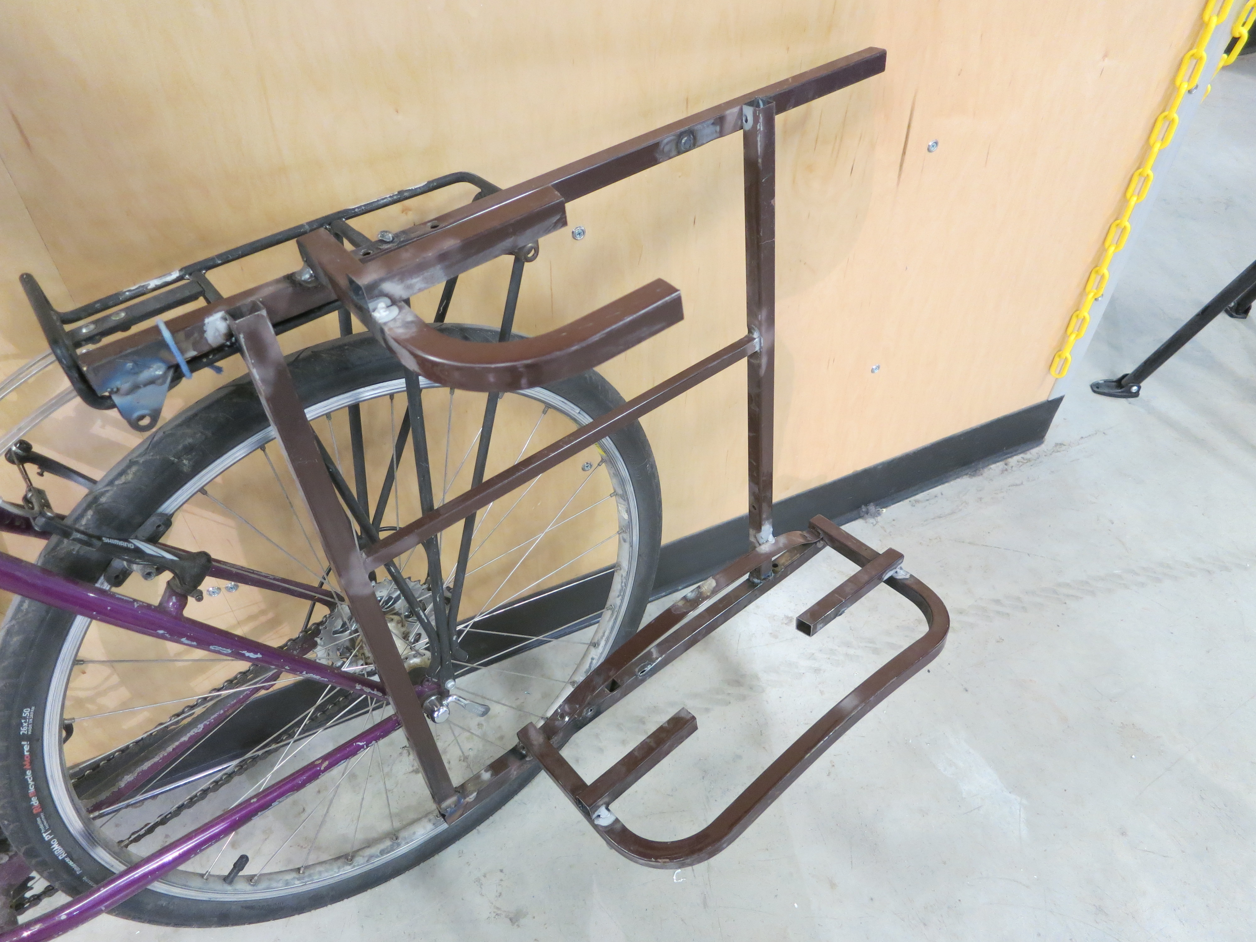 Picture of Uses for Bike Tow Rack