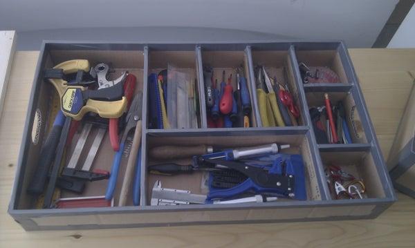 Cardboard Toolbox