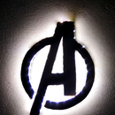 LED Powered Avengers Wall Decor