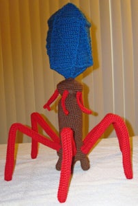 Step 3: Crochet the Collar and Sheath