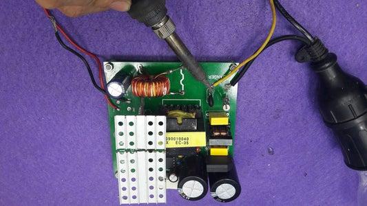 Firts Test 24V 15 Power Supply