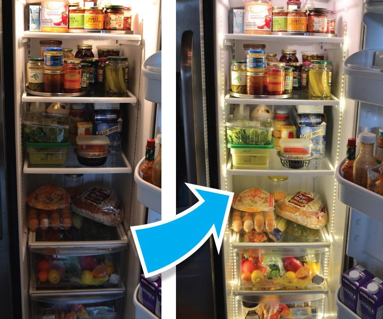 Upgrade Your Refrigerator Lighting: 4 Steps (with Pictures)