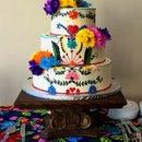 REPURPOSED WOOD CAKE PEDESTAL