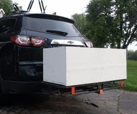 Custom-made Keg Cooler for Camping!!