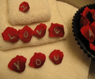 Rose Petal Love Notes