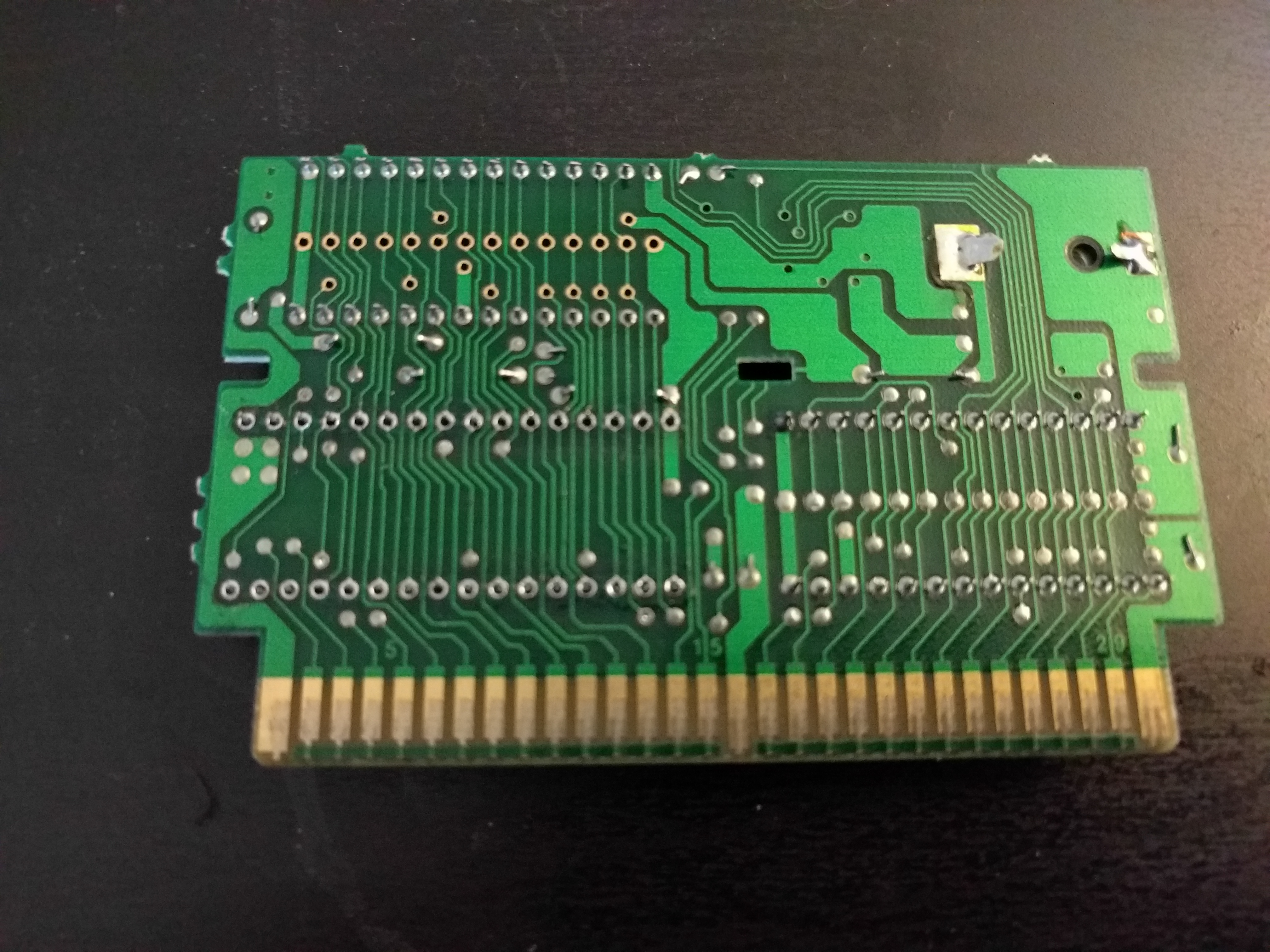 Picture of Desoldering the PRG Chip